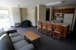 A four person suite in Selby Residence Hall is shown August 30, 2005.