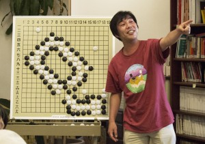 Ryo Maeda 6P at the Seattle Go Center in 2014
