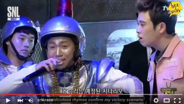 2016.03.29_ SNL Korea - Block B Show Me the AlphaGo