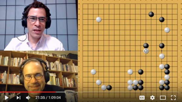 2017.08.01_AlphaGo vs. Alphago with Michael Redmond 9p Game 1
