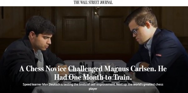 2017.11.27_A Chess Novice Challenged Magnus Carlsen