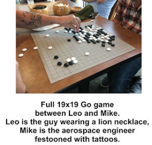 2018.08.20 Chris Knight Leo-Mike game