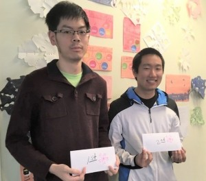 2019.04.07 Eric Lui (1P) and Justin Teng (6D) win NGC Cherry Blossom 2019