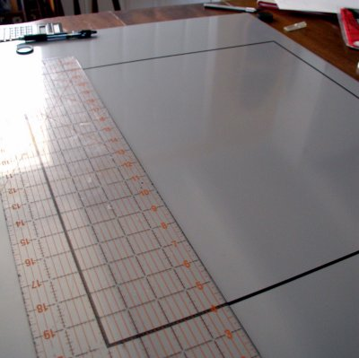 Putting lines on the board