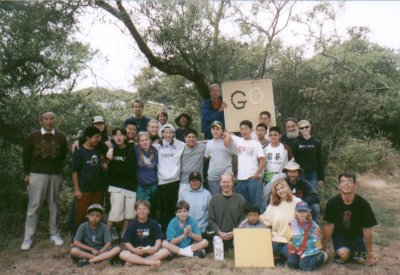 Group photo at Go Camp