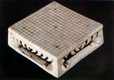 Go board from Chinese tomb ca. 600 C.E.